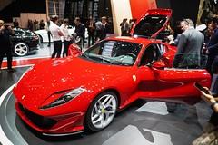 Ferrari 812, la nouvelle diva rouge fait l'unanimité autour d'elle ! (Cédric JANODET) Tags: salon automobile genève 2017 international auto suisse show mitsubishi cadillac chevrolet hyundai lamborghini porsche audi bentley bugatti koenigsegg pagani mclaren sbarro pininfarina mtm opel subaru seat vw volkswagen skoda toyota lexus renault honda nissan infiniti suzuki rolls royce « » citroën ds fiat chrysler dodge pontiac alpina morgan ferrari aston martin ford mazda jaguar land rover maserati peugeot mini bmw mercedes smart kia brabus