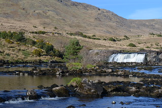 Aashleigh Waterfall on the Erriff River, Co Mayo, Ireland.