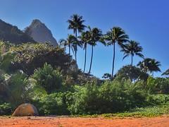 Beaches and mountains from the green island of Kauai (Hawaii) (gerdschremer) Tags: island kauai hawaii beach mountain landscape landschaft