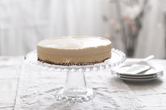 vanilla cheesecake (asri.) Tags: 2017 homemade bakinghomemade foodstyling foodphotography onwhite 85mmf14