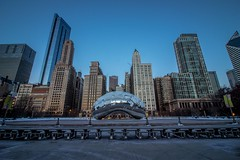 The bean (selo0901) Tags: cloudgate sunrise chicago bean