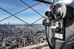 Million Dollar View... (scrapping61) Tags: scrapping61 2017 newyork newyorkcity empirestatebuilding observationdeck manhattan hudsonriver