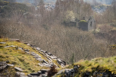 Spoil Vista (ShrubMonkey (Julian Heritage)) Tags: dorothea quarry nantlle house slate disused derelict abandoned forgotten ruin ruined eerie landscape wales building secluded isolation mountains snowdonia sonyalpha spoils slag heap