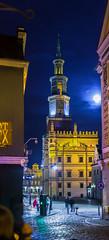 PULCHRITUDO CIVITATIS CONCORDIA (Sakuto) Tags: oldsquare poznan poland night city color townhall