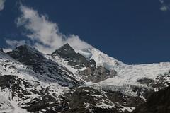 Weisshorn ( VS - 4`505 m - Erstbesteigung 1861 - Viertausender - Berg montagne montagna mountain ) in den Walliser Alpen - Alps im Kanton Wallis - Valais der Schweiz (chrchr_75) Tags: gletscher glacier ghiacciaio 氷河 gletsjer kantonwallis kantonvalais wallis valais albumgletscherimkantonwallis alpen alps schweiz suisse switzerland svizzera suissa swiss hurni christoph chrchr chrchr75 chrigu chriguhurni april 2017 weisshorn berg montagne montagna mountain viertausender