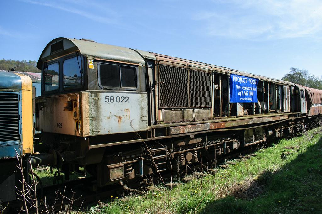 58022 Peak Rail 090417 (Dan86401) Tags: 58022 class58 br brel type5 peakrail