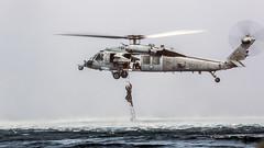 161128-M-KJ317-094 (Jay.veeder) Tags: helocasting maritimeraidforce marinemediumtiltrotorsquadron163 recon seahawk crrc makinisland ace cavingladder navy 11thmarineexpeditionaryunit ladder water ch53e mh60 combatrubberraidingcraft meu ch53esuperstallion marines reconnissance jump mrf superstallion 11thmeu vmm163 nmcs dvidsbulkimport indianocean