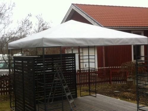 Paviljongtak/pavilion roof