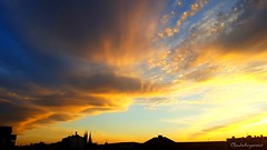 Golden Skies - April 2017 (Cloudwhisperer67) Tags: journey trip europe europa panorama travel skies yellow orange sky strasbourg alsace france dark shadow shadows nature horizon fury landscape scape skyscape color colorful sunset sunsets sunrise sunrises cloud clouds fairy sun soleil coucher cloudwhisperer67 cloudwhisperer fantastic gorgeous spirit photography aurora dawn wonderful skyline gold golden field incredible great art urban canon city cityscape 760 760d sunny spring april 2017 avril