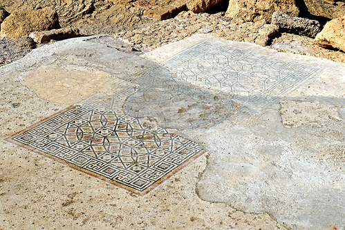 Israel-04871 - Palace Mosaics