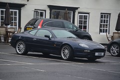Aston Martin DB7 (CA Photography2012) Tags: 25ow aston martin db7 i6 coupe v6 gt grand tourer british luxury vantage classic beauty supercar ca photography automotive exotic car spotting bawtry