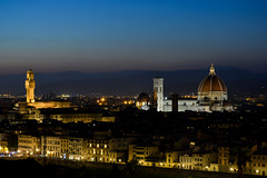 Florence Skyline (benito.anon) Tags: florence firenze florencia toscana tuscany il duomo santa maria di flore vecchio palazzo anochecer atardecer sunsert sunset skyline italia italy