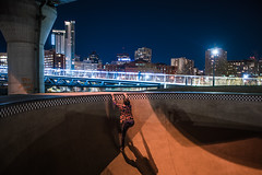 Exit the Bowl (Evan's Life Through The Lens) Tags: camera sony a7rii lens glass metabones adapter canon wide 1635mm f28 beautiful color vibrant friends adventure explore long exposure longexposure night sky blue stars amazing city cityscape skatepark outdoors