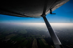 Haze Conditions above the Netherlands (Benjamin Ballande) Tags: haze conditions above netherlands