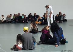Performer at MoMA 03 (Row 17) Tags: usa america newyork manhattan museum artgallery artist dancer dancers people men man entertainer entertainment entertainers