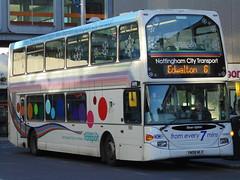 Nottingham City Transport 959 - Christmas Bus 2013 (Ash Hammond) Tags: nottinghamcitytransport scanian270ud darwenomnidekka 959 yn08mlx