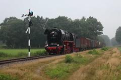 2016-09-03; 025. VSM 44 1593-1 met trein 761. Terug naar Toen. Loenen. (Martin Geldermans; treinen, Züge, trains) Tags: 441593 veluwsestoomtreinmaatschappij terugnaartoen loenen dampf dampfzüge dampflok vsm stoomtrein stoom steamlocomotive steamtrain stoomlocomotief