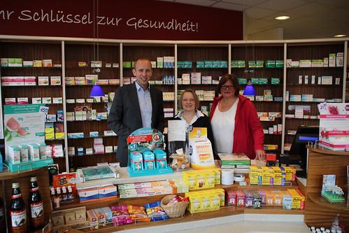 In der Peter-Apotheke in Westerstede habe ich mit Silke Boehmann und Maria Bründermann zur Lage der Apotheken ausgetauscht.