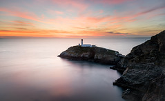 South stack II (Anthony Kellett) Tags: ngc southstack anglesey northwales sunset longexposure lighthouse landscapes