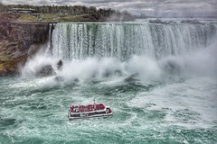 The Hornblower (ryce.davd) Tags: daredevils whitewater canada ontario tourism boat thunder waterfall niagara