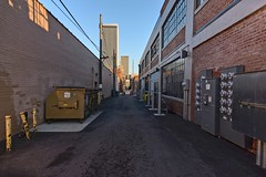 No Bull in the Alley (brev99) Tags: d610 alley tulsa bradyartsdistrict tokina1224dxii atx124afprodx viewnx2 cacorrection nikviveza perfecteffects17 ononesoftware on1photoraw2017