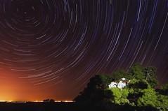 Muntanyeta dels Sants (The dark alchemist) Tags: longexposure startrails nightphotography nocturna circumpolar