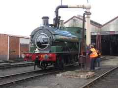 IMG_4705 - GWR Hudswell Clarke Saddle Tank 813 (SVREnthusiast) Tags: didcotrailwaycentre didcot railway centre gwrhudswellclarkesaddletank813 gwr hudswellclarke saddletank 813