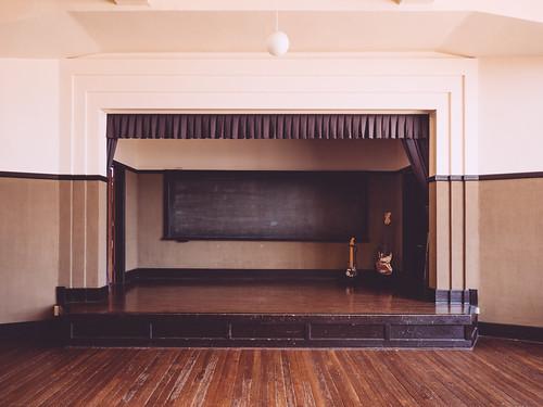 軽音部のステージ