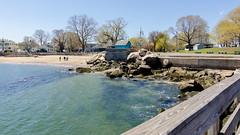 "Salem Willows (Kristin ""Shoe"" Shoemaker) Tags: ocean atlantic lynn salem beach waves water massachusetts landscape"