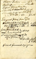 Sixteenth page of the Cambridge Milk Dealer Account Book (Cambridge Room at the Cambridge Public Library) Tags: cambridgemass commerce milk business accountbooks milkdelivery