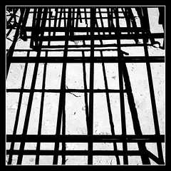 Metal Abstract (toletoletole (www.levold.de/photosphere)) Tags: fujixt2 marokko zagora abstract metal metall abstrakt morocco bw sw