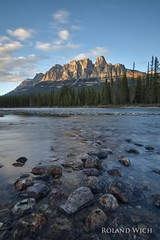 Castle Mountain (Rolandito.) Tags: north america kanada canada alberta banff castle rock mountain rocky mountains