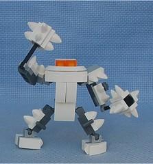 White Maximillian (Mantis.King) Tags: lego legogaming legomecha moc mechaton mobileframezero mfz mf0 microscale mecha mech scifi maximillian futuristic wargames