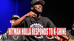 HITMAN HOLLA RESPONDS TO K SHINE !!!... (battledomination) Tags: hitman holla responds to k shine battledomination battle domination rap battles hiphop dizaster the saurus charlie clips murda mook trex big t rone pat stay conceited charron lush one smack ultimate league rapping arsonal king dot kotd freestyle filmon