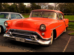 1954 Oldsmobile Rocket 88 (54 Ford Customline) Tags: cars gm rockabilly rocknroll hdr hotrods oldsmobile customs psychobilly cs6 kustomkulture ferntreegullyhotel 54olds 1954oldsmobilerocket88 kustomkulturemeltdown