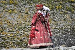 Anne-Sophie et Michael (jomnager) Tags: masque yvoire d300s costumevenitien