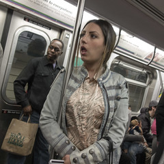Over There (rockerlan) Tags: nyc people newyork train subway photos sony over there rx100