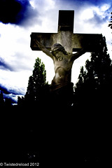 Forgive Them Father (Twistedreload) Tags: cemeteries art cemetery victorian angels