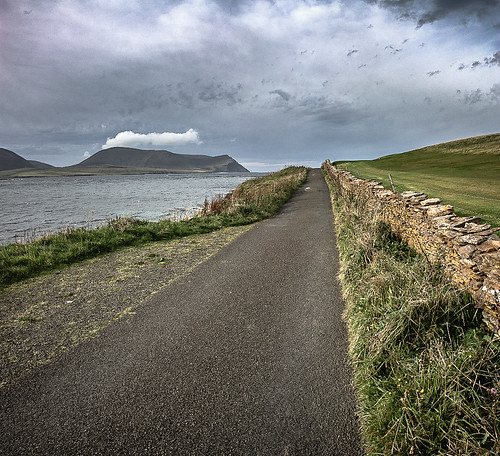 On the road from Stromness