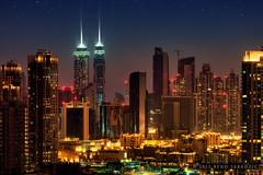 Business Bay in Dubai (Titanium007) Tags: urban horizontal dubai cityscape fineart uae wallart arabic east arab middle urbanism unitedarabemirates gcc architecturalphotography emaar businessbay burjdowntown soukalbahar downtowndubai arabicheritage uaearchitecturalphotography