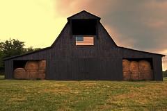 Barn (Berkehaus) Tags: barn sunrise farm country hay