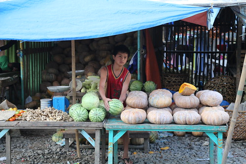 Market in Central, Dipolog City, Philippines. Photo by Dr. Leoadio Sebastian, 2013.