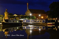 Canal (simonpaul2uk) Tags: water boats canal avon stratford upon