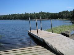 Indian Lake campground dock