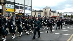 Argylls8 (lairig4) Tags: scotland stirling military band historic parade farewell soldiers veterans regiment battalion argylls argyllandsutherlandhighlanders royalregimentofscotland 5scots