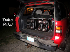 BatBass1 (ARJPhotography) Tags: for pa speaker batman modified custom loud speakers hx jvc z30