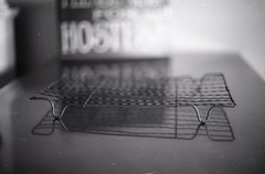 Cake rack - at home. (frontdrive34) Tags: 50mm iso100 pentax f14 supertakumar pentaxspotmatic luckyshd100