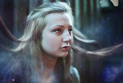 Midnight City. (Evie Barker) Tags: city portrait photoshop canon adobe portraiture midnight cs5 5dmk2