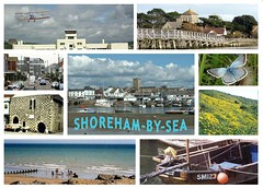 SHOREHAM-BY-SEA (Perseus1) Tags: bridge beach downs boats sussex airport fishing harbour groyne adur shoreham shorehambysea millhill chalkhillblue ropetackle horseshoevetch marlipins coridon stmarydeharua