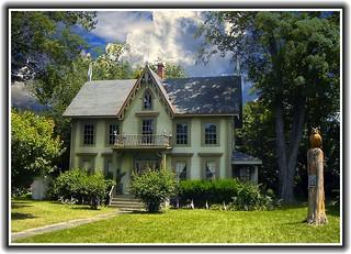Van Tuyl House ~ Gothic Architecture ~ Canandaigua NY